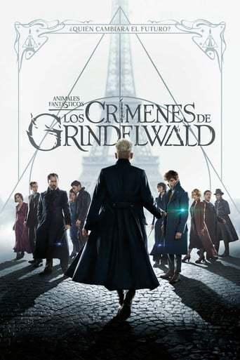 """Portada de la película """"Animales fantásticos: Los crímenes de Grindelwald"""""""